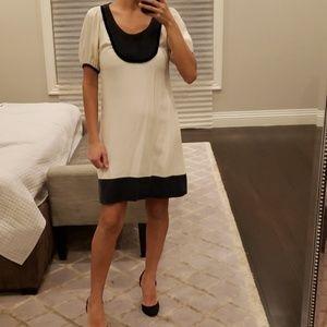WOMEN'S CHRISTOPHER DEANE BLACK AND WHITE DRESS